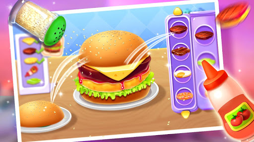 ud83cudf54ud83cudf54Make Hamburger - Yummy Kitchen Cooking Game 5.1.5052 screenshots 1