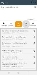 My TTS: Text-to-Speech MOD APK (Premium Unlocked) Download 5