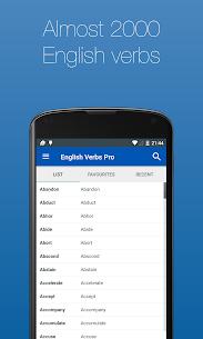English Verb Conjugator Pro v3.3.5 [Paid] 2