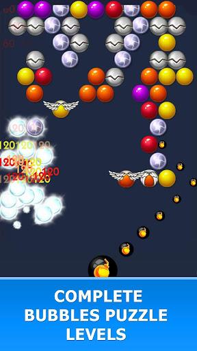 Bubble Puzzle: Hit the Bubble Free 7.2.8 screenshots 6