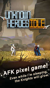 Unknown Heroes Idle Mod Apk 1.1.00 (Unlimited Gold/Diamonds/Ores/Stones) 4