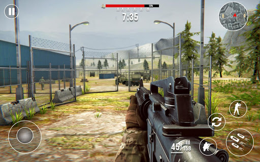 Gun Strike Fire: FPS Free Shooting Games 2021 1.2.1 screenshots 17