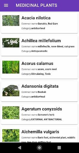 medicinal plants : natural treatment remedy screenshot 2