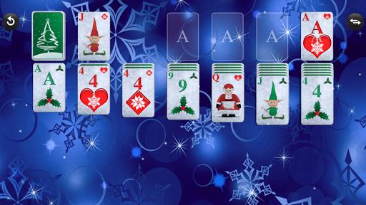 christmas solitaire screenshot 1