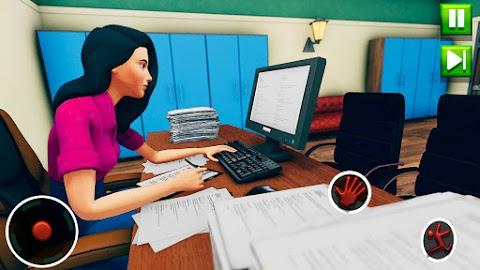 高 学校 先生 シミュレーター 仮想 学校 ゲームのおすすめ画像5
