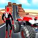 Superhero Mega Ramp Car Stunt - Monster Truck Race