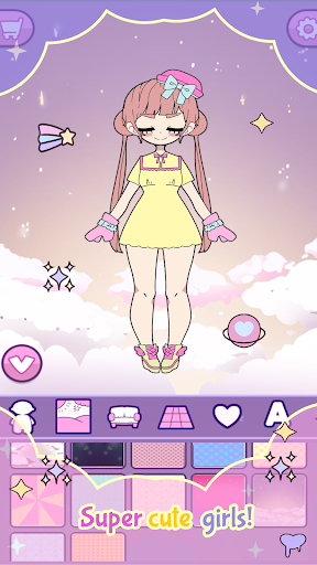 Moon's Closet: Dress up game, Goth girl creator apkdebit screenshots 7