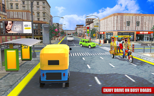 Tuk Tuk City Driving 3D Simulator 1.15 screenshots 15