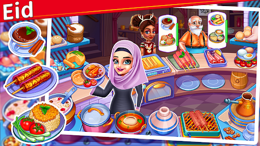 Cooking Express : Food Fever Cooking Chef Games 2.5.1 screenshots 1