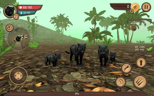 Wild Panther Sim 3D  screenshots 4