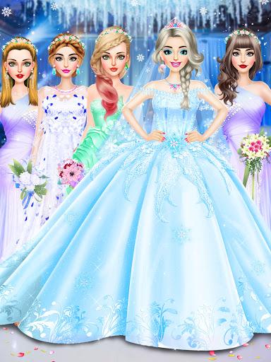 Ice Princess Wedding Dress Up Stylist 0.11 screenshots 12