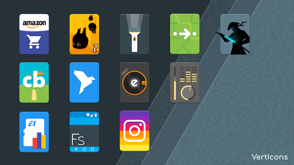 Verticons Icon Pack  poster 5