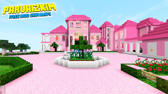 Addon Barbie – Mod Barbie Pink Skin MCPE Apk Download NEW 2021 5
