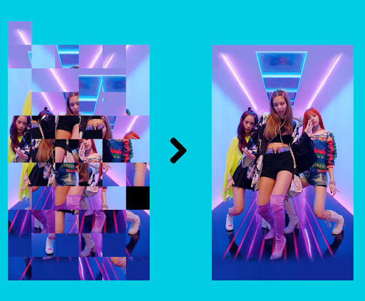 BlackPink Puzzles Game : Offline, Free apkpoly screenshots 2