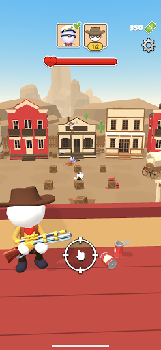 Western Sniper - Wild West FPS Shooter modiapk screenshots 1