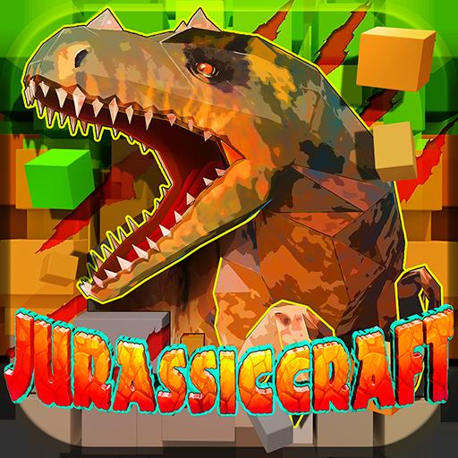 JurassicCraft: Free Block Build & Survival Craft