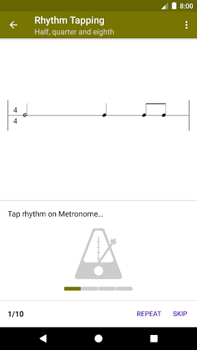Perfect Ear - Music Theory, Ear & Rhythm Training 3.8.56 Screenshots 4