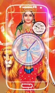 Durga Devi Clock Live Wallpaper 1.0.3 Mod APK Updated 3