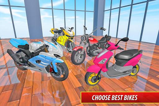 Moto Bike Pizza Delivery u2013 Girl Food Game 1.0 screenshots 10