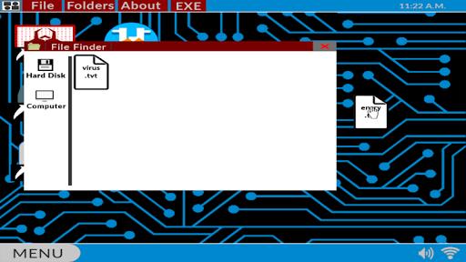 Hacker.exe - Mobile Hacking Simulator Free 1.7.3 Screenshots 1