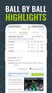 Cricingif – PSL 6 Live Cricket Streaming, Score & News Apk 3
