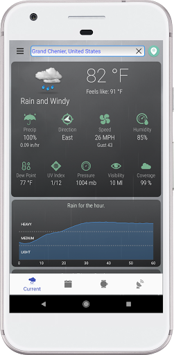 Hyperlocal Weather (Dark Sky Powered by) & Radar screenshots 1