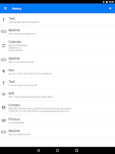 QR & Barcode Scanner 2.2.12 Screenshots 14