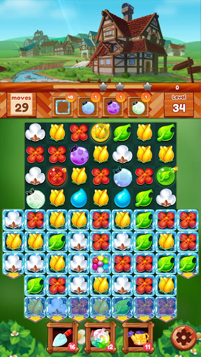 Garden Dream Life: Flower Match 3 Puzzle Apkfinish screenshots 12