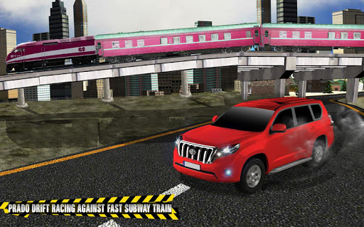 Train vs Prado Racing 3D: Advance Racing Revival modavailable screenshots 9