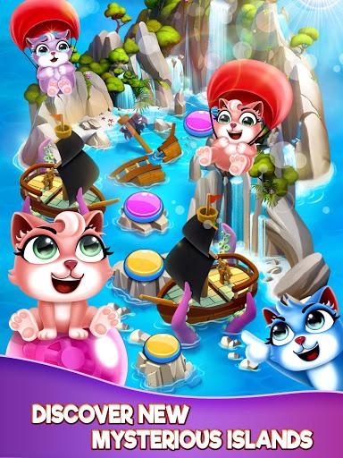 Cat Pop Island: Bubble Shooter Adventure 8.5 screenshots 21