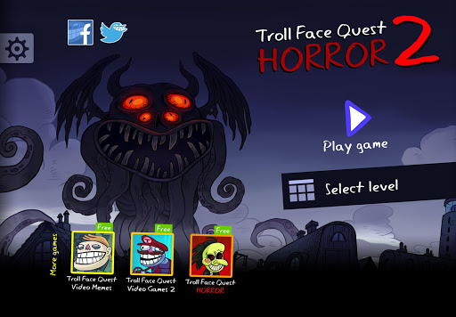 Troll Face Quest Horror 2: ud83cudf83Halloween Specialud83cudf83 2.2.3 Screenshots 1