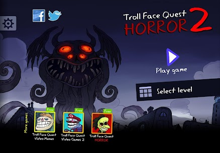 Free Troll Face Quest Horror 2  🎃Halloween Special🎃 Apk Download 2021 1