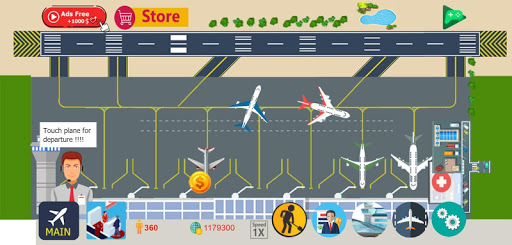 Airport Tycoon Manager 2.7 screenshots 1