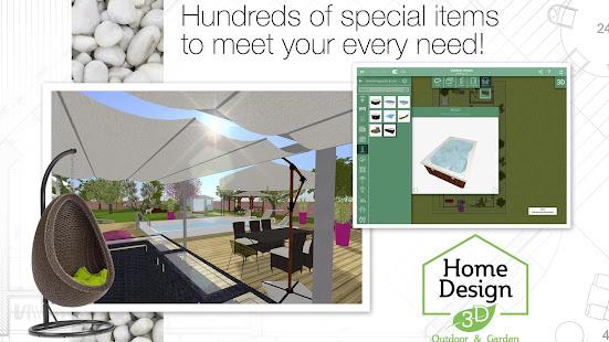Home Design 3D Outdoor/Garden 4.4.1 Screenshots 14