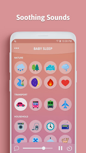 Baby Sleep - White Noise 1.8.0.RC-Android-Free(30) Screenshots 1