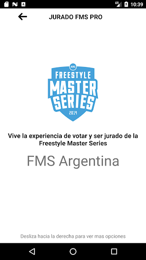 jurado fms: puntua batallas de freestyle screenshot 2