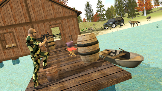Hunting Simulator 4×4 MOD (Unlimited Money) 5