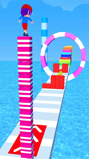Cube Tower Stack 3D screenshots 2