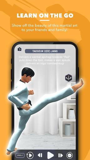world taekwondo ar textbook screenshot 3