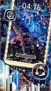 City Night Launcher Theme