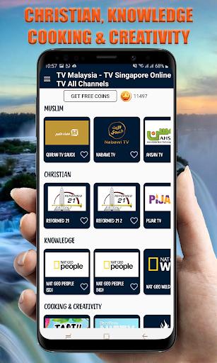 TV Indonesia Online - TV Malaysia TV Singapore 26.0 Screenshots 20