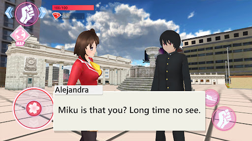 Sakura Anime School Girl Simulator  screenshots 15