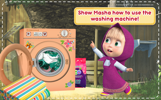 Masha and the Bear: House Cleaning Games for Girls 2.0.0 screenshots 21