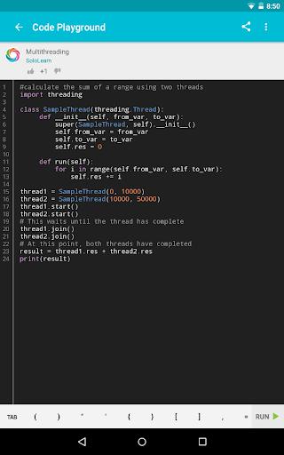 Learn Python  Screenshots 16
