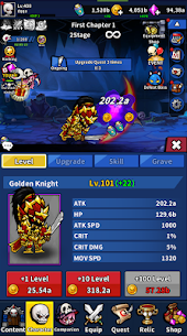 IDLE Death Knight – afk, rpg, clicker games Apk Mod + OBB/Data for Android. 8