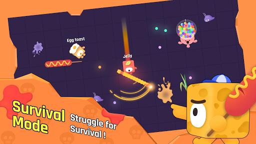 Snack.io - Free online io games with Snack Warrior screenshots 2