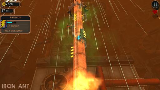 iron ant-robot bugs shooting battle screenshot 3