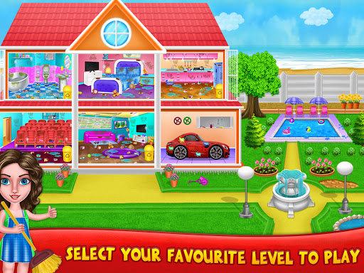 House Cleanup : Girl Home Cleaning Games 3.9.1 screenshots 9