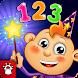 小さな魔法使いと一緒に数字と数え方の学習! 無料 - Androidアプリ