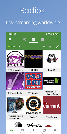 Podcast Republic - Podcast Player & Podcast App screen 1